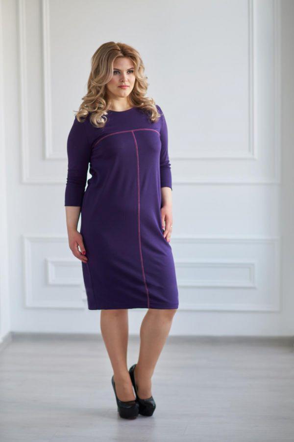 Платье арт.0121-04 слива, милано