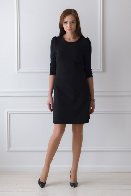 Платье арт.0119 черное, милано