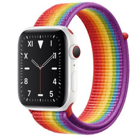 Apple Watch Edition Series 5 White Ceramic Case 44mm GPS + Cellular Pride with Sport Loop