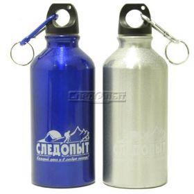 Бутылка питьевая алюминиевая СЛЕДОПЫТ 400 мл. PF-BD-A400