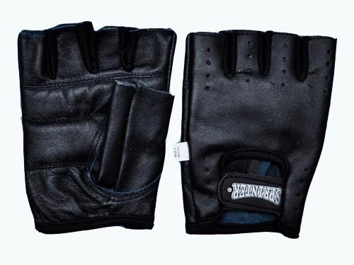 Перчатки для тяжёлой атлетики без пальцев, кожа. Размер XXL. 16581