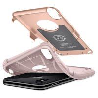 Оригинальный чехол Spigen Hybrid Armor для iPhone X румяное золото: купить недорого в Москве — выгодные цены в интернет-магазине противоударных чехлов для телефонов айфон 10 — «Elite-Case.ru»