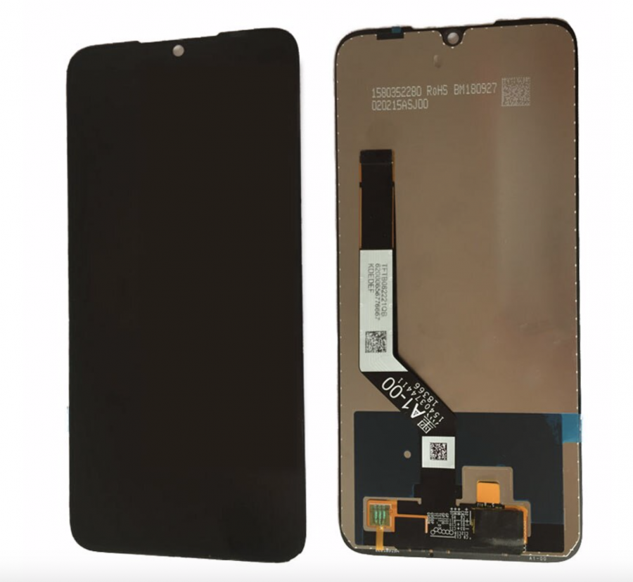 LCD (Дисплей) Xiaomi Redmi Note 7/Redmi Note 7 Pro (в сборе с тачскрином) (black) Оригинал