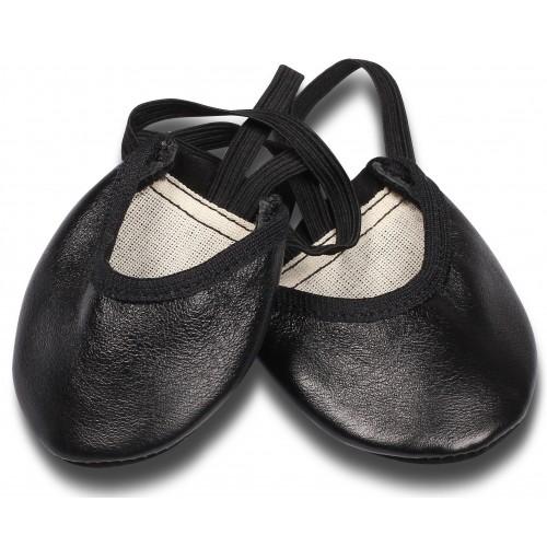 Получешки кожаные GS103 черные