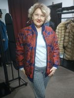 Двухсторонняя меховая куртка фото купить от бренда