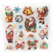 Новогодние наклейки на окна Room Decor, 26х21 см, Санта Клаус