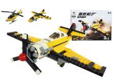 Конструктор 3 в 1 Самолет Вертолет Lego реплика 246 деталь