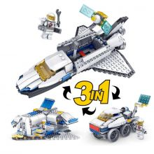 Конструктор 3 в 1 Шатл Космос Луноход База Lego реплика 305 деталей