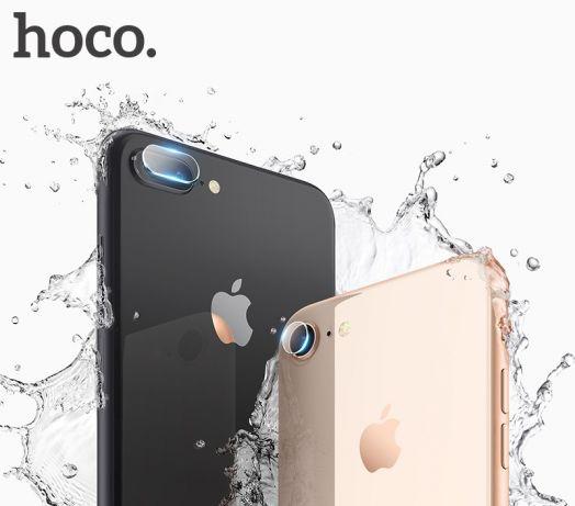 Защитное закаленное стекло Hoco для камеры iPhone 7/8 (2шт) (V11) прозрачное