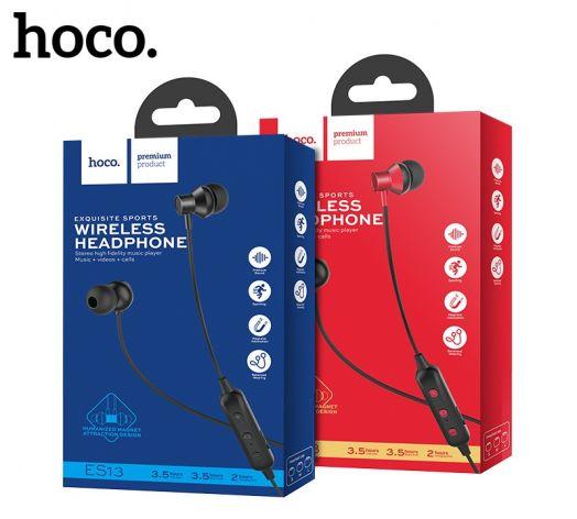 Беспроводные вакумные наушники Hoco ES13 exquisite sports, черные