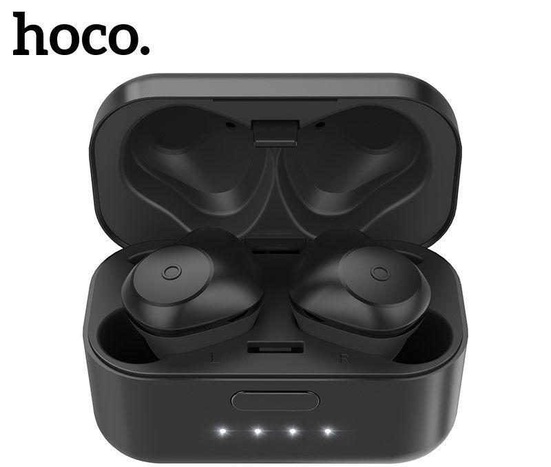 Беспроводные вакумные наушники Hoco ES15 Soul sound, черные (УЦЕНКА!!! ПОСЛЕ РЕМОНТА)