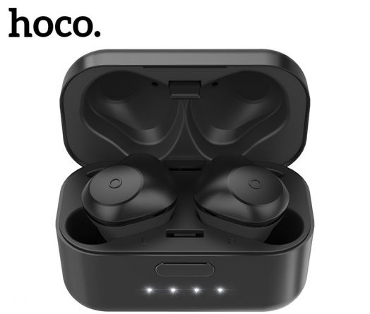 Беспроводные вакумные наушники Hoco ES15 Soul sound, черные