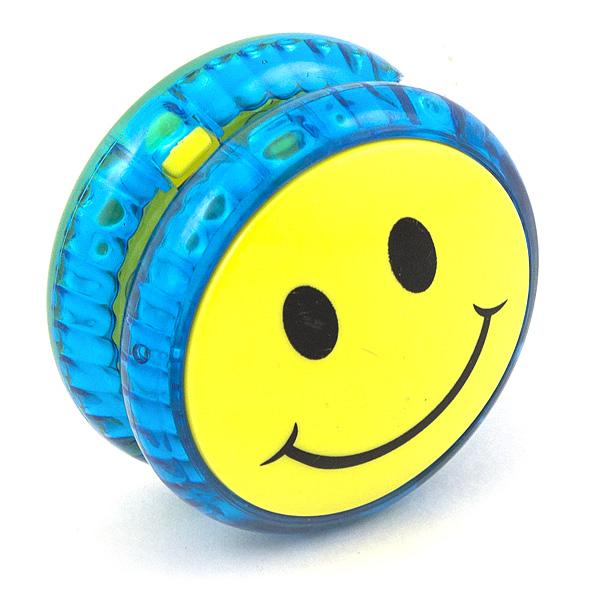 Волчок на шнуре Yo-Yo Смайл классика Синий