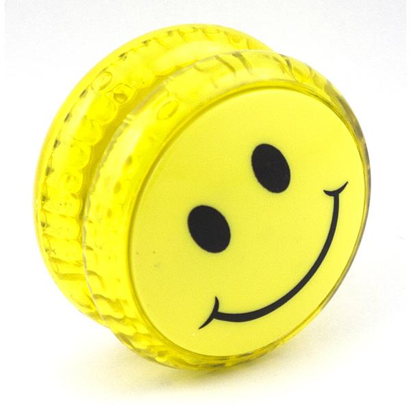 Волчок на шнуре Yo-Yo Смайл классика Желтый