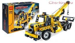 Конструктор Decool Technic Передвижной мини-кран 3348 (Аналог LEGO Technic 8067) 267 дет