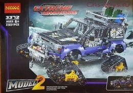 Конструктор Decool Technic Экстремальные приключения 3372 (Аналог LEGO Technic 42069) 2382 дет