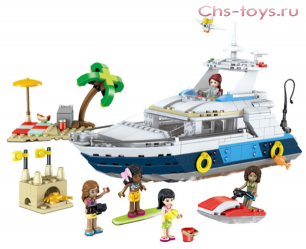 Конструктор LELE Friends 37083 (Аналог LEGO Friends) 621 дет