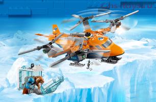 Конструктор Lari Город Арктический вертолет 10994 (60193) 289дет