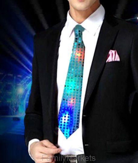 Светящийся карнавальный галстук