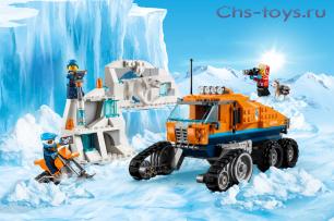 Конструктор LELE City Грузовик ледовой разведки 28022 (Аналог Lego City 60194) 345 дет