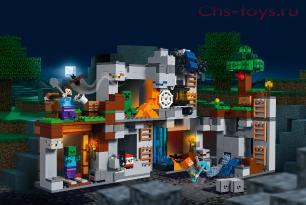 Конструктор LELE Minecraft Приключения в шахтах 33228 (Аналог Lego Minecraft 21147) 664 дет