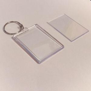 Брелок акриловый для ключей, прямоугольный 40*56мм ( 1уп = 10 шт)