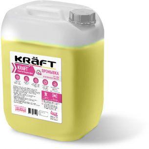 Промывка для  системы отопления от Пропиленгликоля KRAFT CleanProf  Propylene Glycol