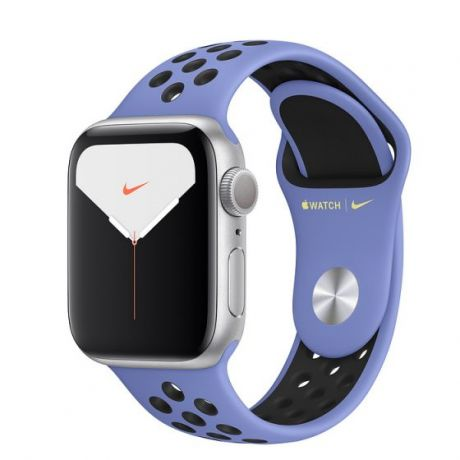 Apple Watch Nike Series 5 Silver Aluminum Case 44mm GPS Royal Pulse/Black with Nike Sport Band