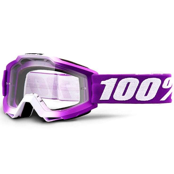 100% Accuri JR Framboise очки для мотокросса подростковые
