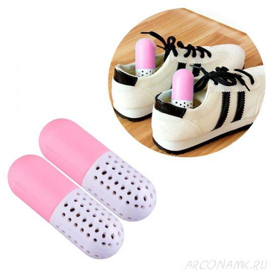 Поглотитель неприятного запаха для обуви CURE, Цвет: Розовый
