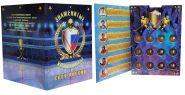 Набор монет 12 ШТУК, 10 РУБЛЕЙ  - ЗНАМЕНИТЫЕ ХОККЕИСТЫ СССР и РОССИИ, ЦВЕТНАЯ ЭМАЛЬ + ГРАВИРОВКА (в альбоме)