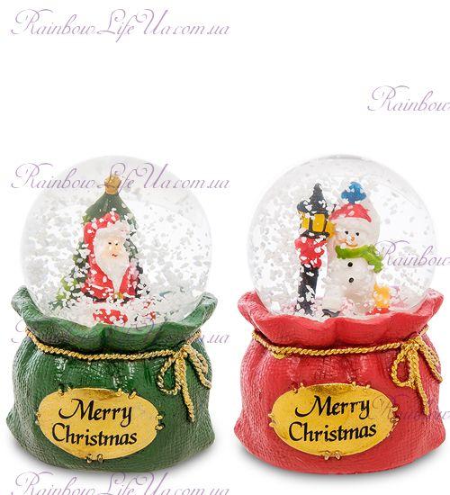 """Шар - мешок со снегом """"Merry Christmas"""""""