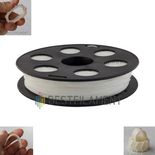 BFLEX пластик Bestfilament 1,75 мм, Белый, 500 гр.