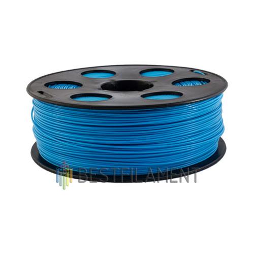 PLA пластик Bestfilament 1,75 мм, Голубой, 1 кг