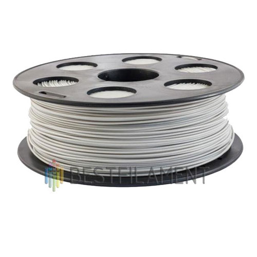 PLA пластик Bestfilament 1,75 мм, Светло-серый