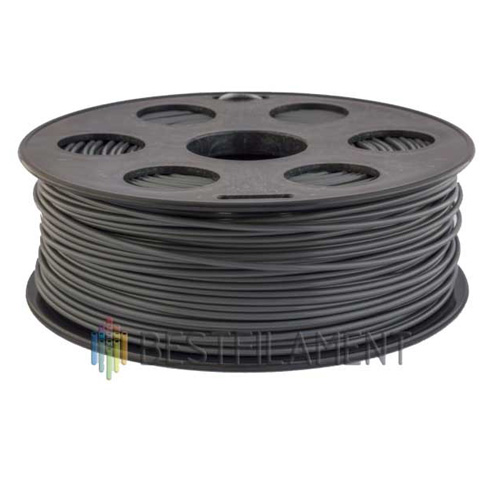 PLA пластик Bestfilament 1,75 мм, Темно-серый , 1 кг