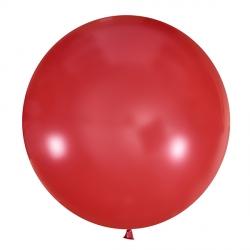Красный полуметровый латексный шар с гелием