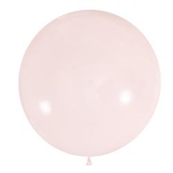 Клубника Макарун полуметровый латексный шар с гелием