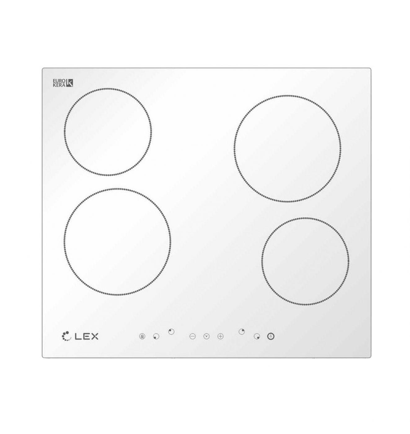 Электрическая варочная панель LEX EVH 640 WH (CHYO000183)