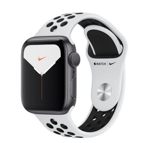 Apple Watch Nike Series 5 Space Gray Aluminum Case 40mm GPS Pure Platinum/Black with Nike Sport Band