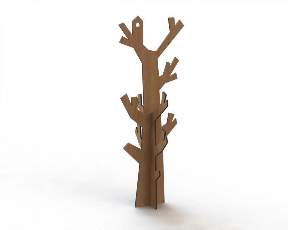 Держатель для украшений в виде дерева простой