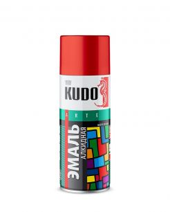 "Краска аэрозоль серая 520 мл ""Kudo"" KU-1018"