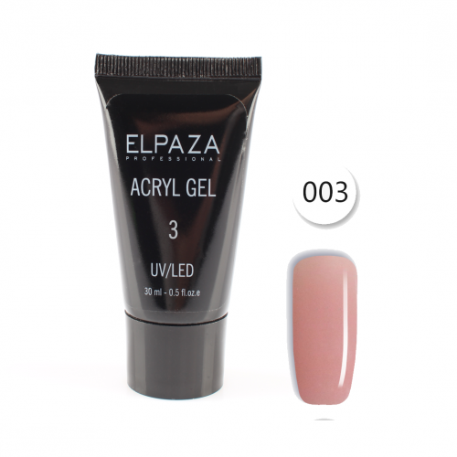 Акригель ELPAZA ACRYL GEL 30ml 03