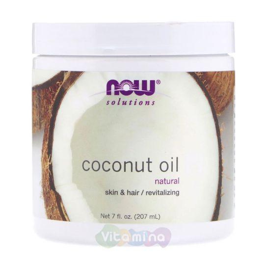 Кокосовое масло 100 % натуральное, 207 мл