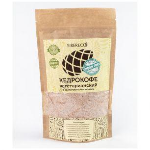 Кедрокофе вегетарианский на растительных сливках без сахара, 90 гр