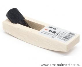 Рубанок японский горбач с ПРЯМЫМ ножом Shiho Sori 120/24мм белый дуб MikiTool М00012230