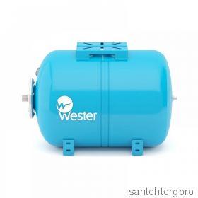 Бак мембранный для водоснабжения 50л горизонт. Wester WAO50 (Арт. WAO50)