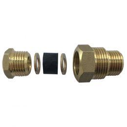 Сальник на 1/2 и 3/4 для ввода греющего кабеля в трубу
