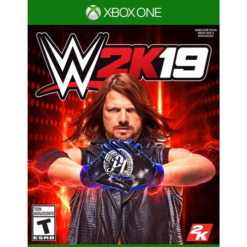 Игра WWE 2K19 (Xbox One)