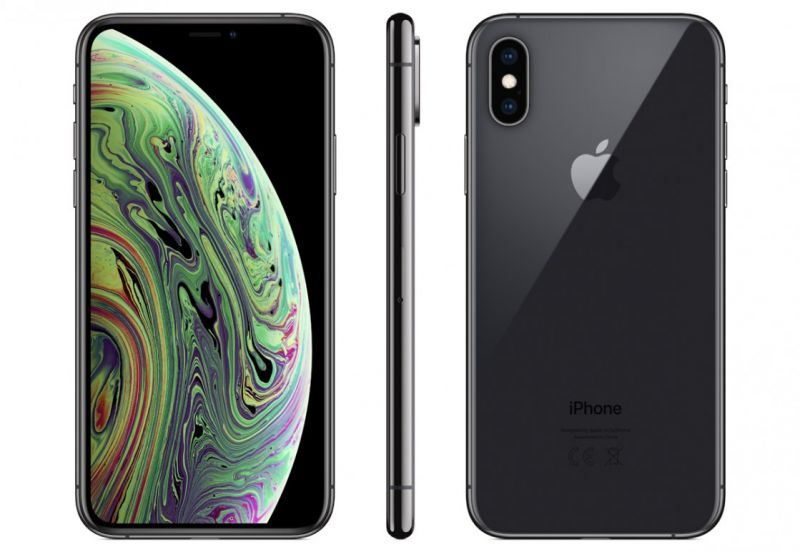 Apple iPhone Xs 64GB Space Gray (A2097) (MT9E2RU/A)